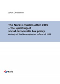 The updating of social democratic tax policy