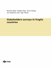 Stakeholders surveys in fragile countries
