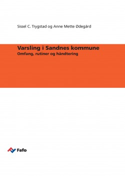 Whistleblowing in the municipality of Sandnes