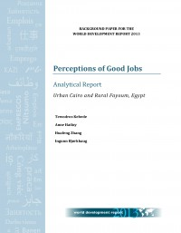 Perceptions of Good Jobs. Analytical Report. Urban Cairo and Rural Fayoum, Egypt