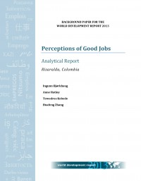 Perceptions of Good Jobs. Analytical Report. Risaralda, Colombia