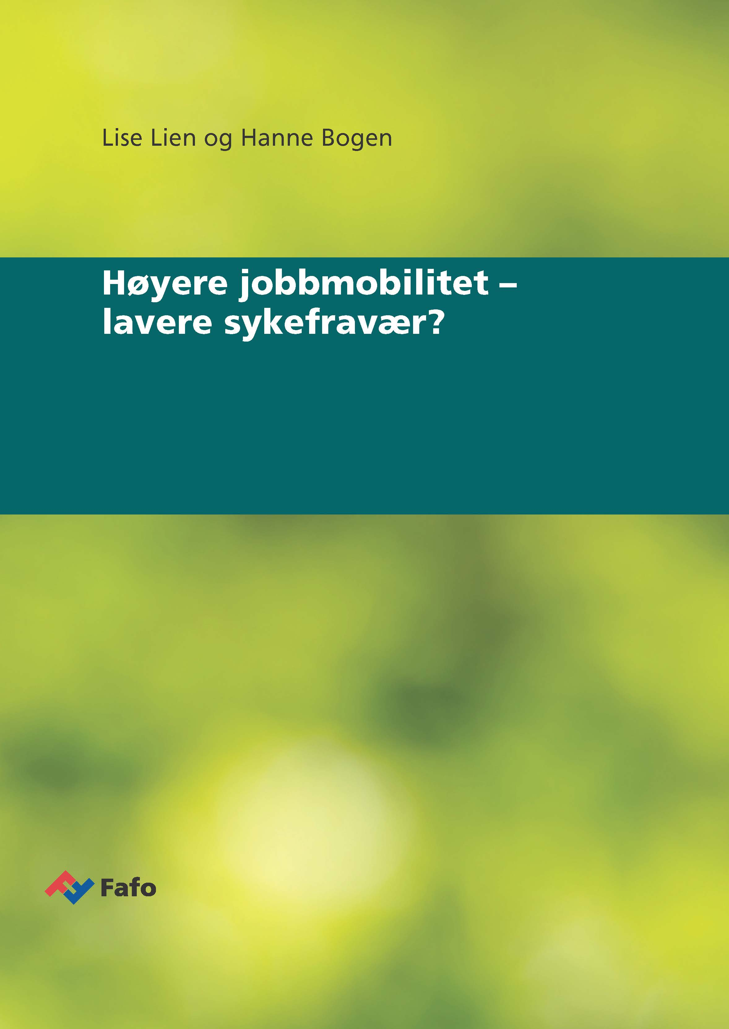 New report: Higher job mobility  –  reduced sick leave?