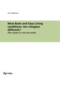 West Bank and Gaza Living conditions: Are refugees different?