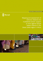 Mapping and assessment of national, bilateral and multilateral actors support to work against sexual based violence in the Great Lakes region in Africa