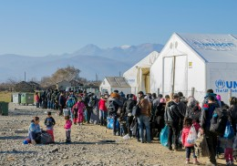 Refugee protection in Europe and in neighbouring areas – trends and scenarios