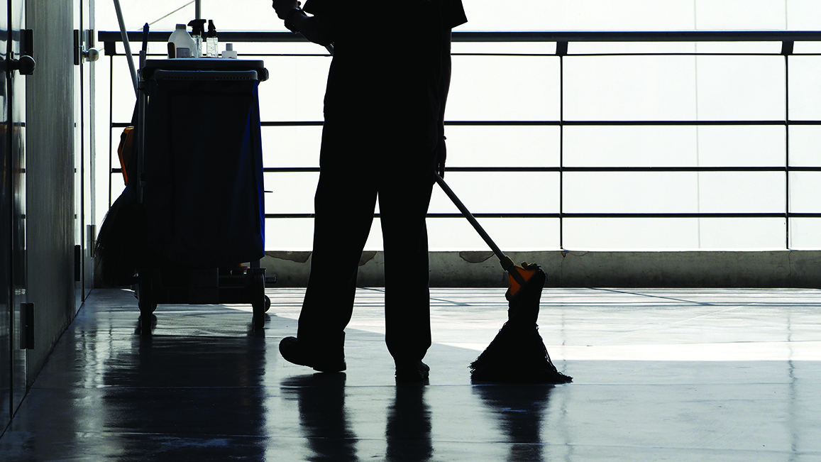 Outsourcing of cleaning services in the Armed Forces