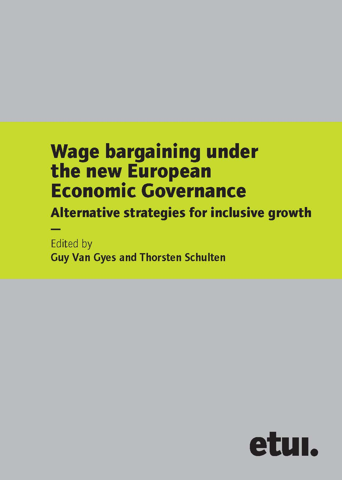 New articles on wage bargaining